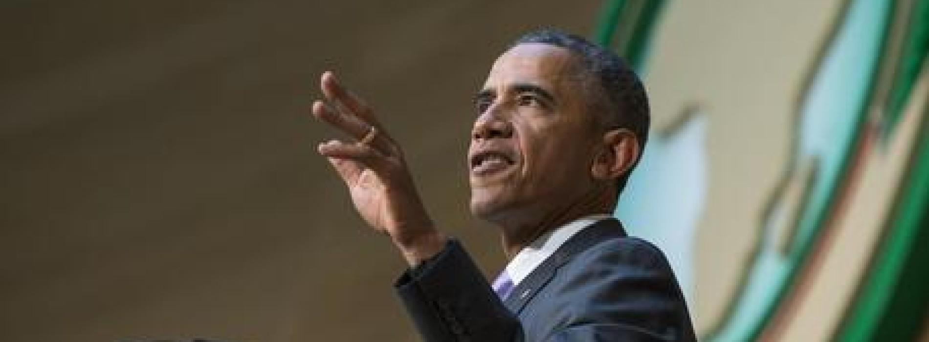"""Obama """"L'Africa è in movimento, corre: la povertà diminuisce, i redditi salgono e la classe media è in crescita"""""""