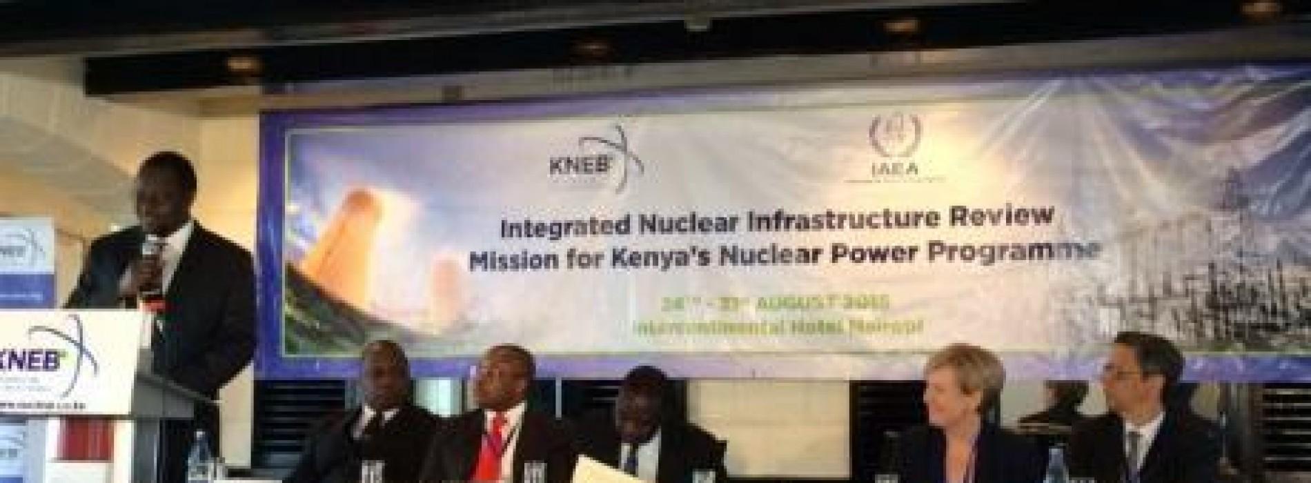 Kenia in fase avanzato il piano per il nucleare