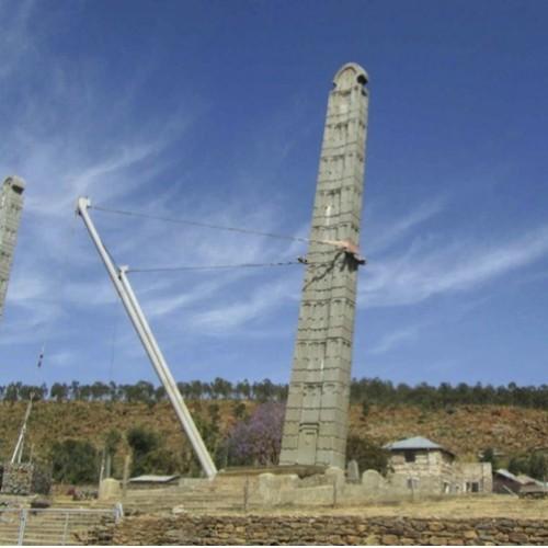 Cavalcare il rinascimento Etiopico