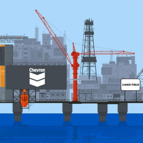 Congo DRC: Chevron inizia la produzione dal giacimento Offshore Lianzi