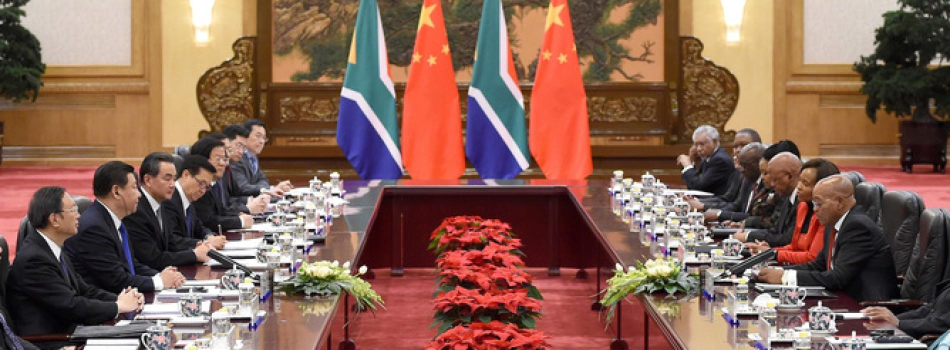 Sud Africa e Cina, dietro al gioco di specchi