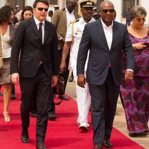Renzi: l'Italia pronta ad investire in Ghana