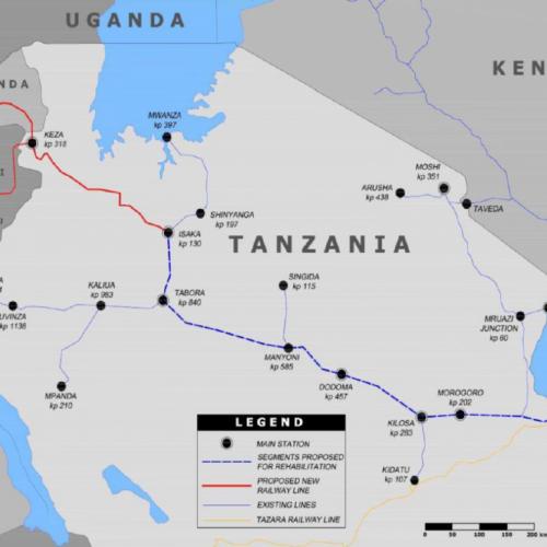 Il Rwanda preferisce il tracciato Tanzano per la nuova ferrovia
