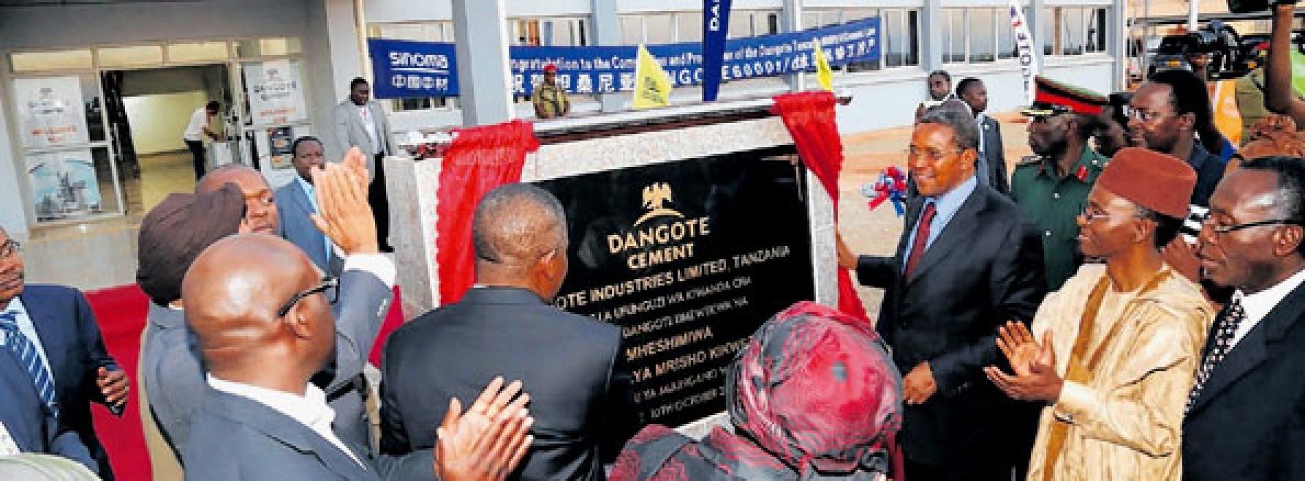 Tanzania: Dangote raggiunge un accordo sulla fornitura di gas naturale