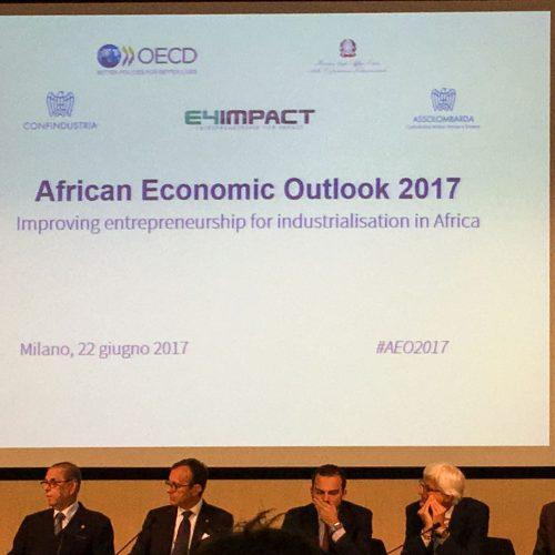 Milano, presentazione del rapporto African Economic Outolook