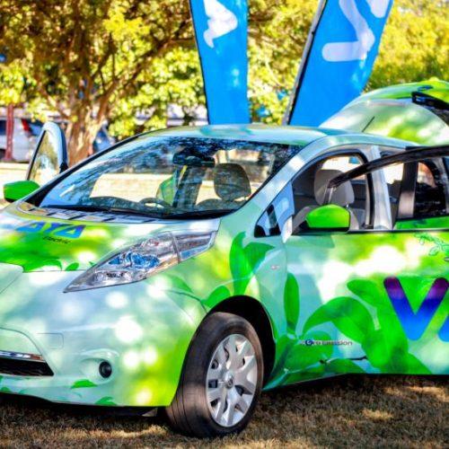 Zimbabwe , Vaya lancia una rete taxi di elettrici