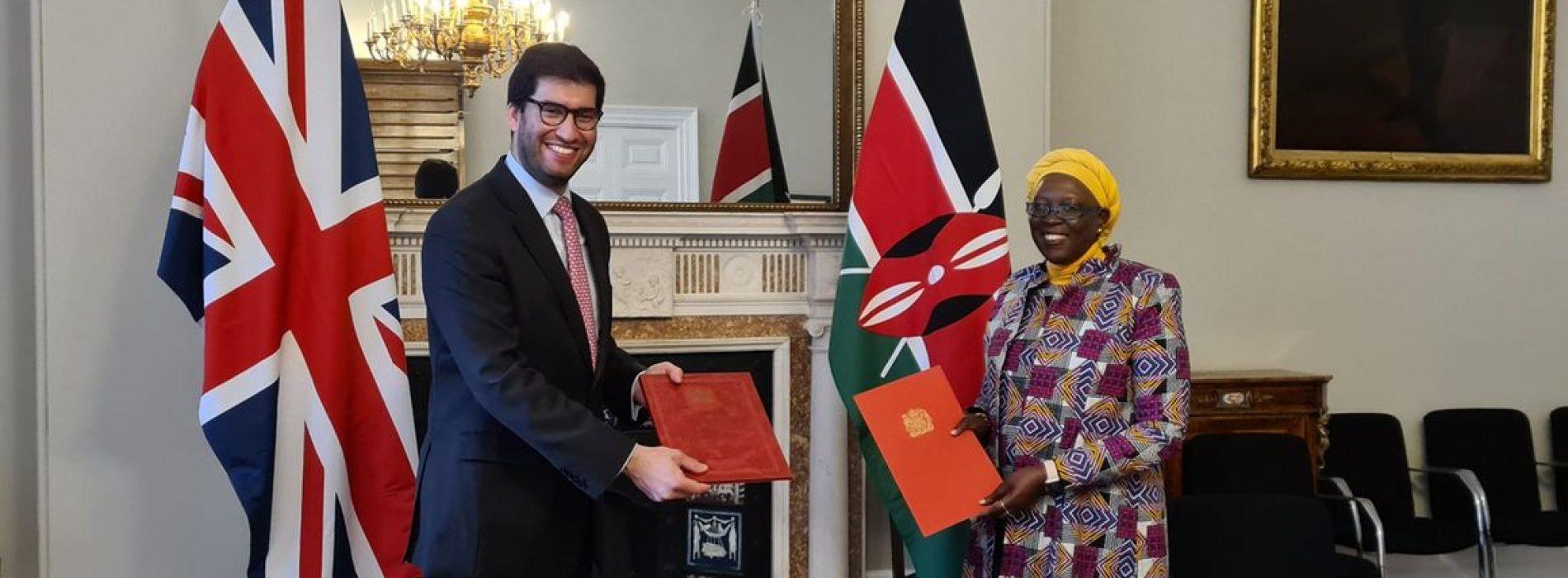 Il Kenya e Regno Unito firmano l'accordo di libero scambio