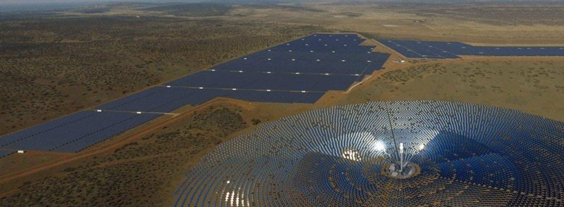 Sud Africa: Acwa Power raccoglie 498 milioni di dollari per il suo impianto solare a concentrazione Redstone