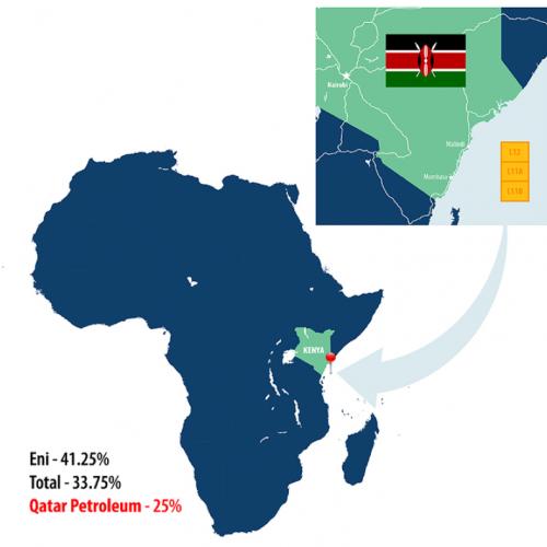 Kenya, Qatar Petroleum si unisce a Eni e Total in tre blocchi al largo del Kenya