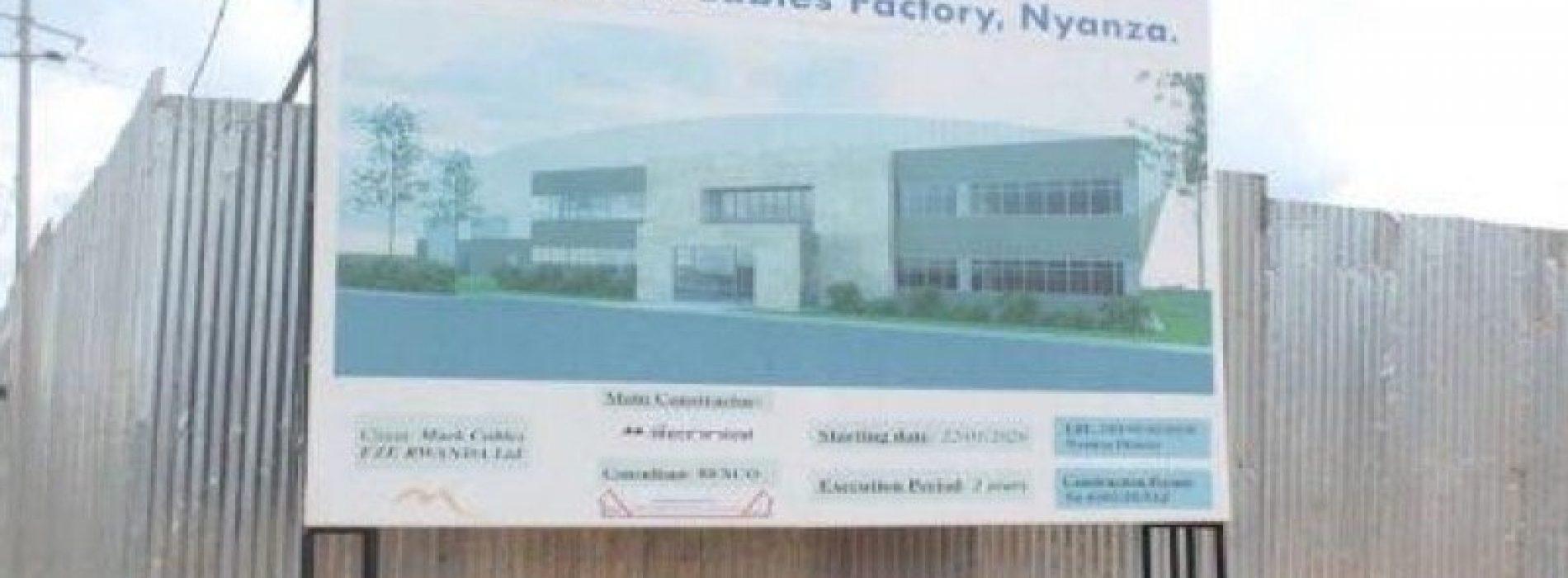 Ruanda: la fabbrica di cavi elettrici del Nyanza entrerà in funzione a giugno